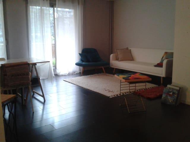 Chambre dans grand appartement - Paris centre