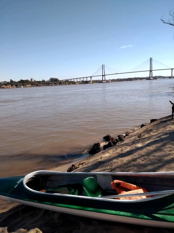 Isla Victoria, vista puente.