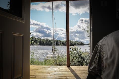 9.5 Lake Cecebe Sunrise Tiny Cabin