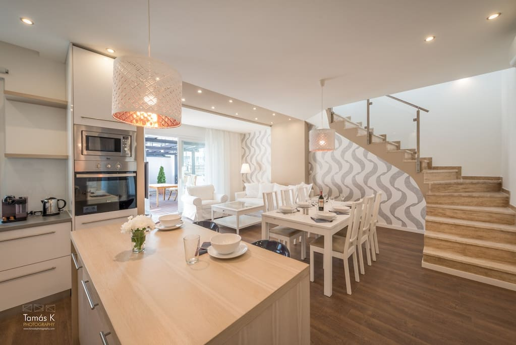 Spacious open plan living in the heart of Budapest