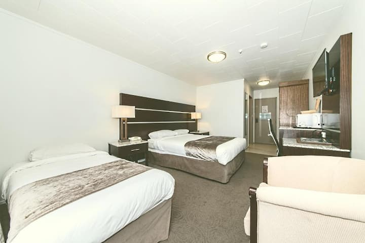 Airport Deluxe AC Room w/ Free Parking(G)