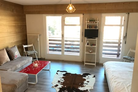 Cosy refurbished studio in the Center of Crans - Crans-Montana - อพาร์ทเมนท์