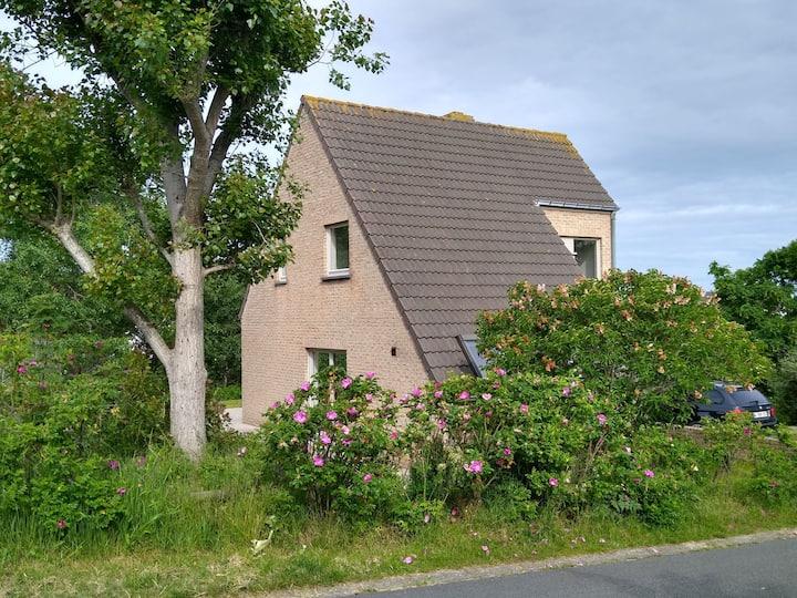 Villa Oostduinkerke:350m zee+duinen,rust+groen+zon