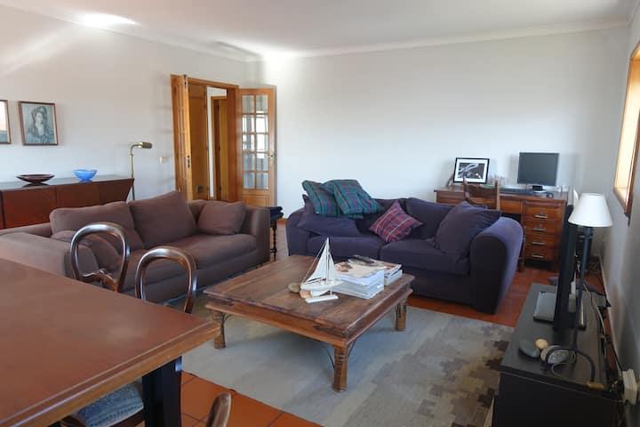 Apartamento T3 na praia de Moledo