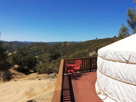 Authentic Mongolian Yurt In Santa Margarita Hills