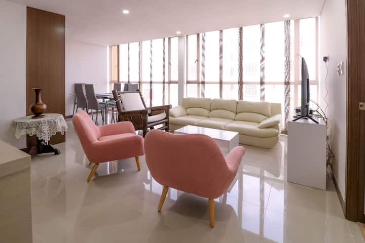 Cómodo apartamento amoblado-Apto 903