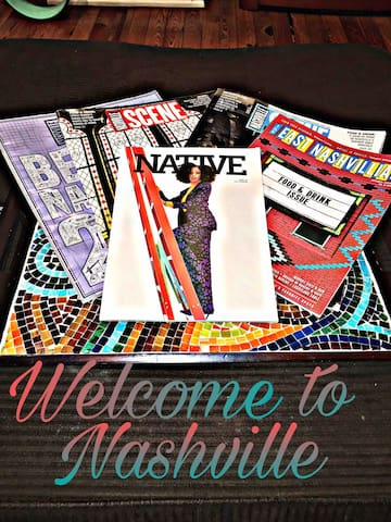 Welcome to Nashville. We hope to host an AWESOME experience for you and your guests.