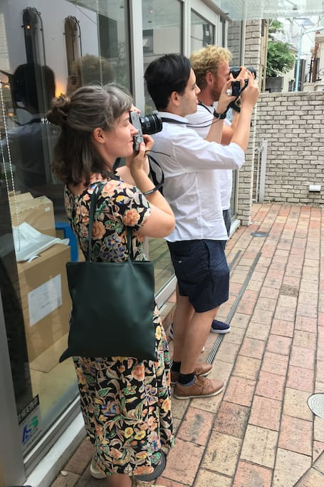 Photo Shoot & Learn in Tokyo Downtown