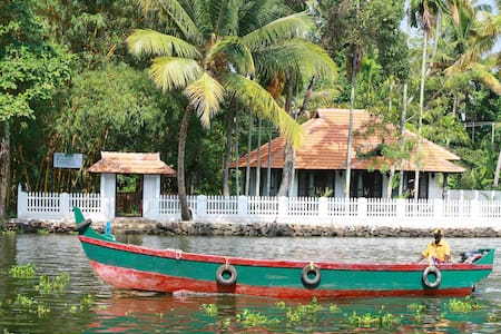 Twin Bed Deluxe Room in Bamboo Lagoon - Alappuzha