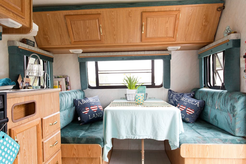 Thoughtfully Well-stocked camper