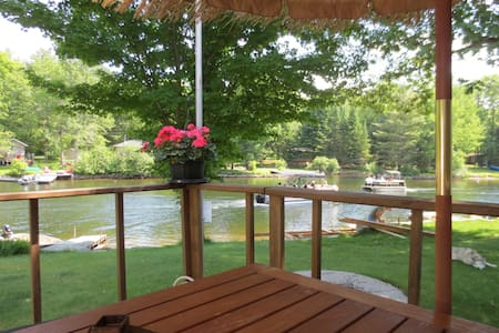 Year Round waterfront house(Gull river)HOT TUB. - Kawartha Lakes