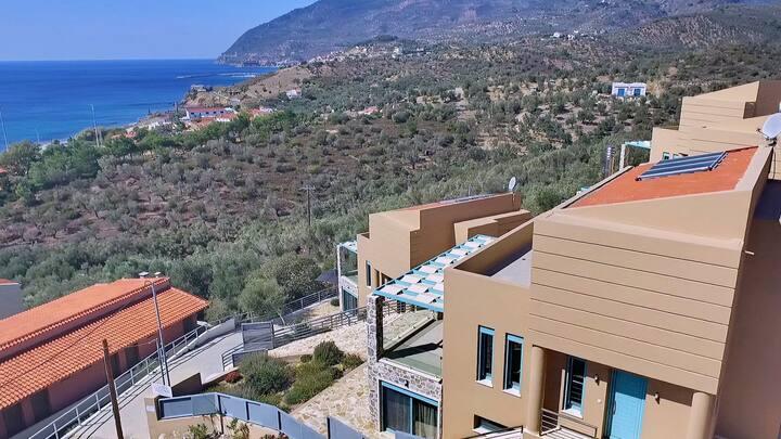 Ouzo Villas 1 at Ag.Isidoros Lesvos 3Bdr villa