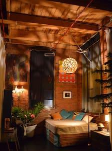 Authentic DIY Loft w/ Downtown View - Cleveland