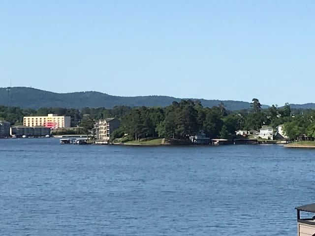 Perfect View of Lake Hamilton! Covered Boat Slip!