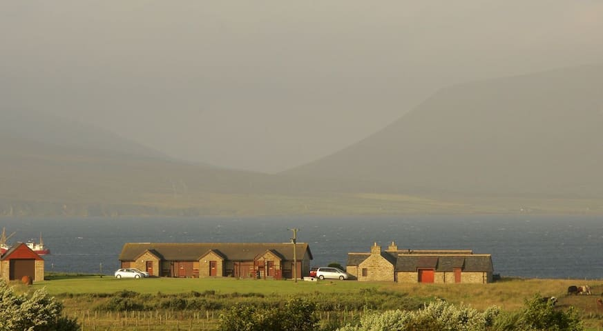 Buxa Farm Chalets- number 3 (far right on approach)