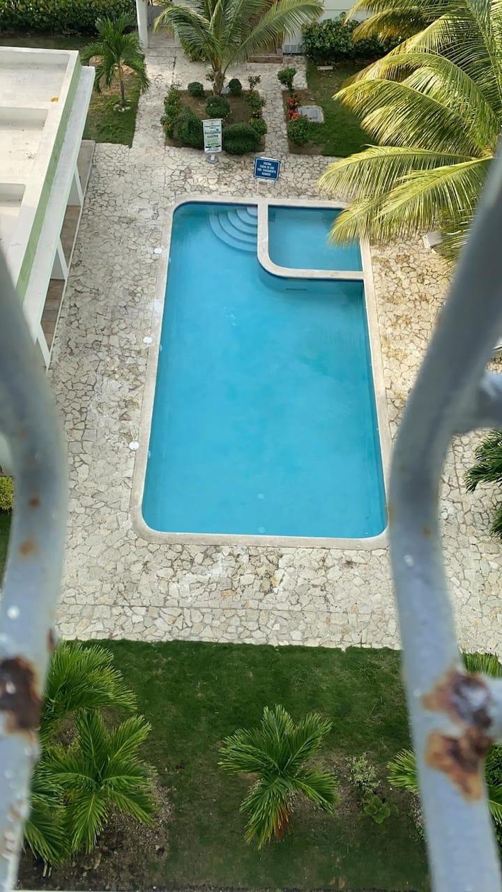 Apartamento vip con piscina