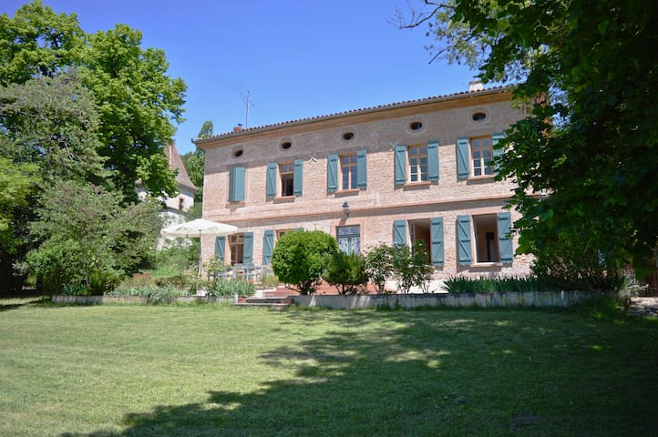Typical French country house, with orchard & pool