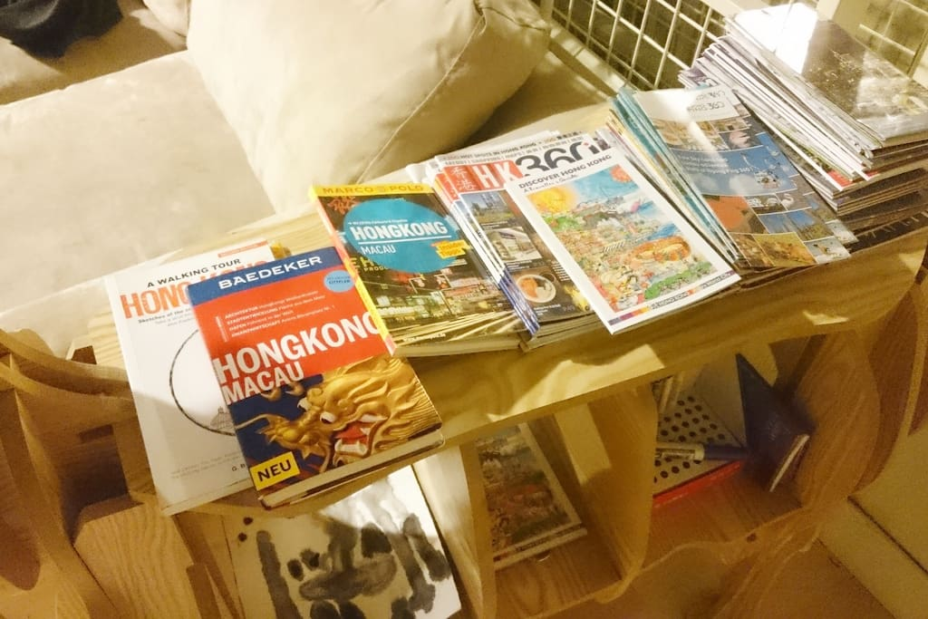 maps and guide books