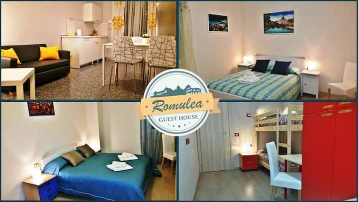 Room Flaminia near Tiburtina Station(Flixbus)