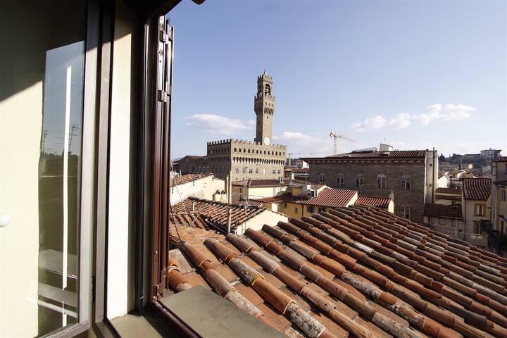 Beautiful Terrace Piazza della Signoria Florence - Firenze - Apartment