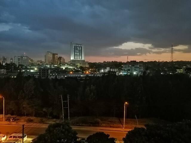 Nairobi City View Studio.
