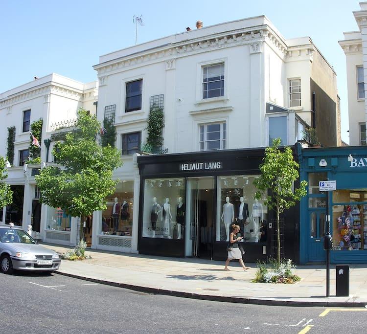 The neighbourhood - same block as the flat.