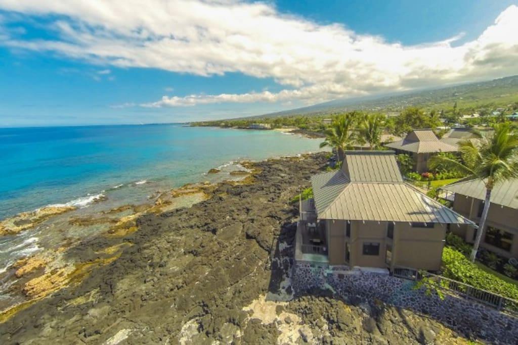 Ocean Front Island Home
