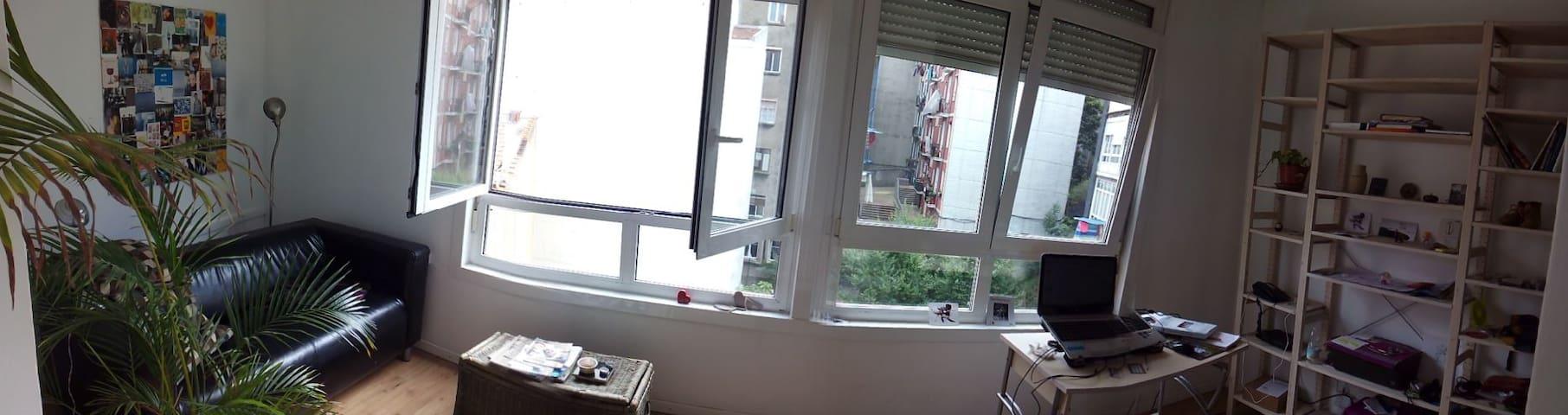 Habitación cama grande en casco viejo de Bilbao - Bilbao