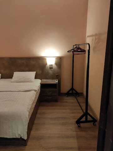 Hamsun Suites Shahra e faisal 1 + 1 bedroom suite.