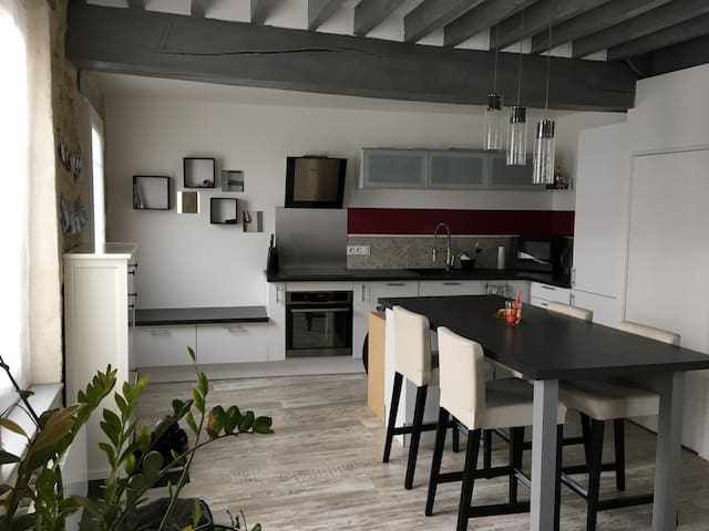 Maison calme et cosy proche Paris et Compiegne - La Croix-Saint-Ouen - Hus