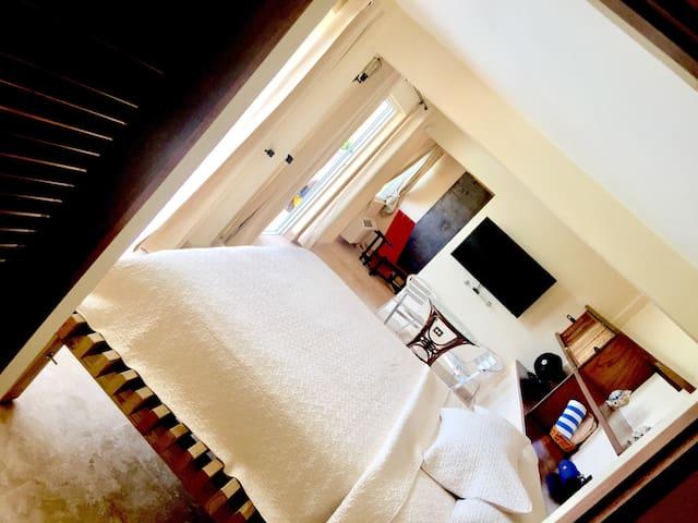 Vieques loft studio with pool - Vieques - Hus
