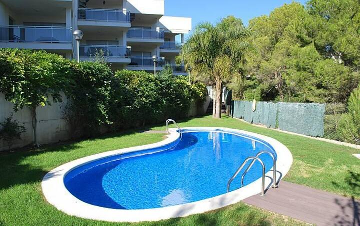 Charming Ground Floor Apartment with Direct Access to the Beach, Pinar de la Cala