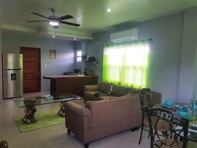 Spacious 2nd Floor 1 Bed Apt - Belize City - Apartment