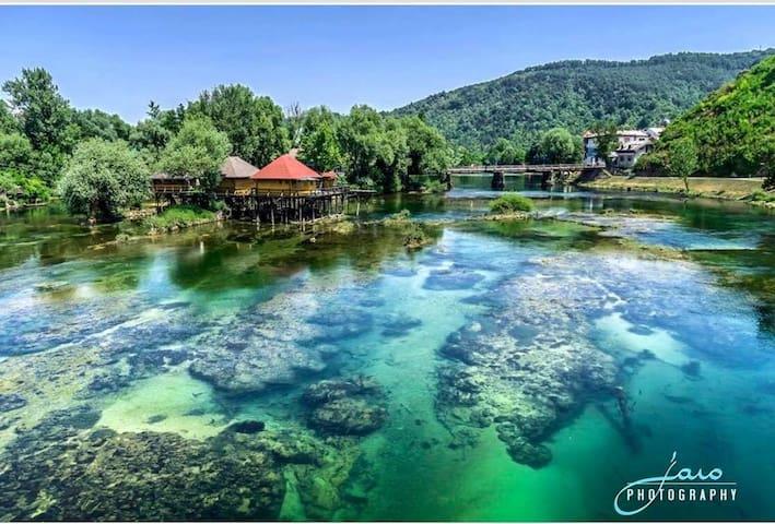 Pile dwelling, nature&water