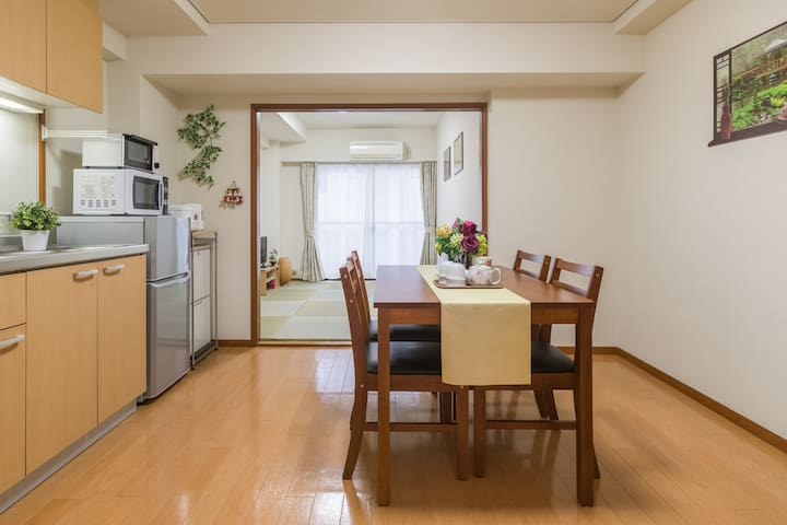 3min to Shibuya /Sangen-jaya Sta /Free wifi/Max 4 - Setagaya-ku - Apartment