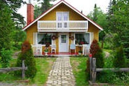 maison champêtre charlevoix - Saint-Tite-des-Caps - 独立屋