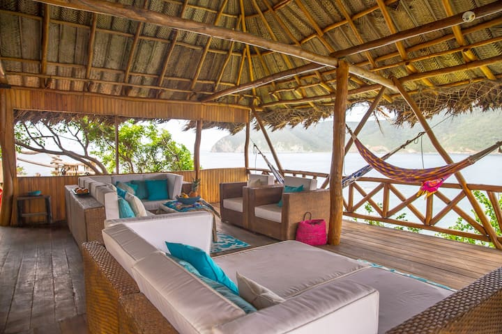Tayrona Ecohab Bungalow on the Ocean