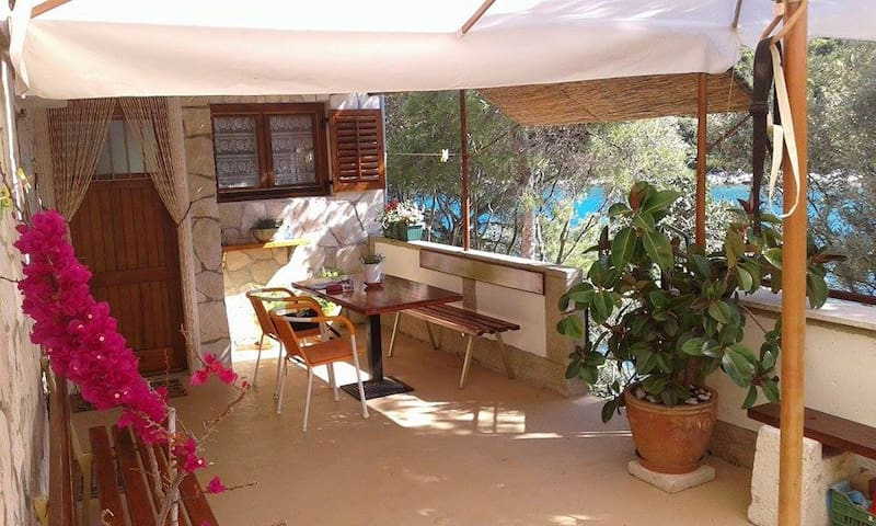Apartment by the sea, two mountain bikes provided - Vis - House