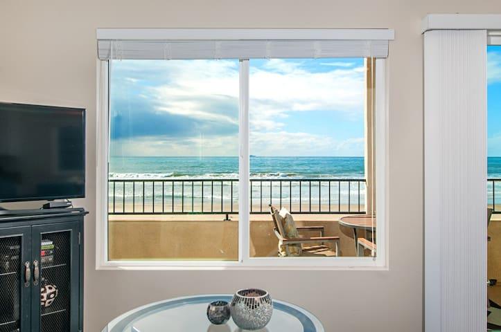 Ocean front 2nd floor condo