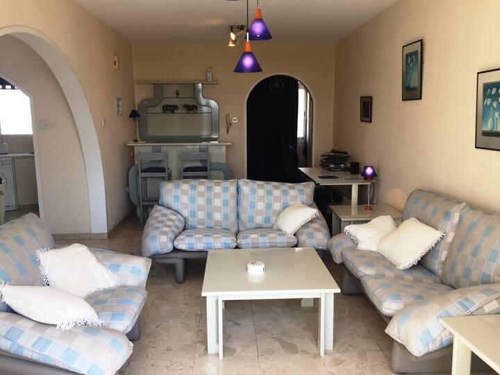 Nicosia Master bedroom w/ en-suite bathroom & View