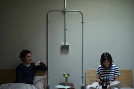 【ゲストハウス ushiyado】 個室TwinRoom Montbeliarde