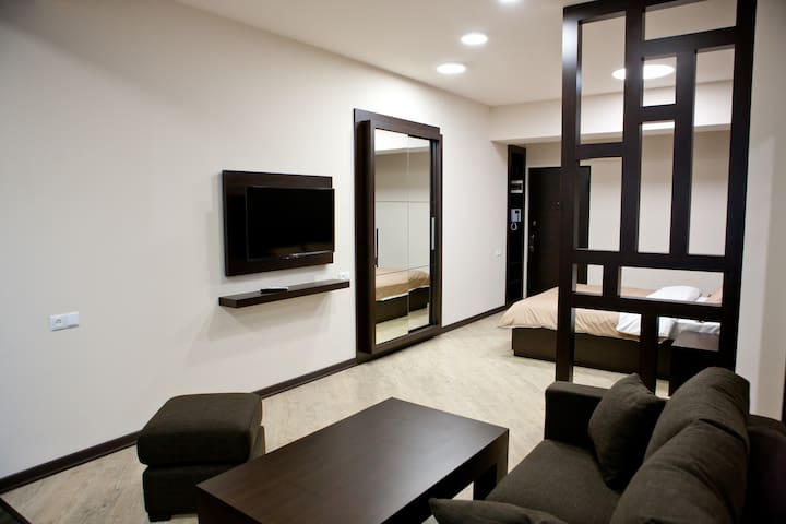Studio apartment (#15/1) in the heart of Yerevan! - Yerevan - Apartment