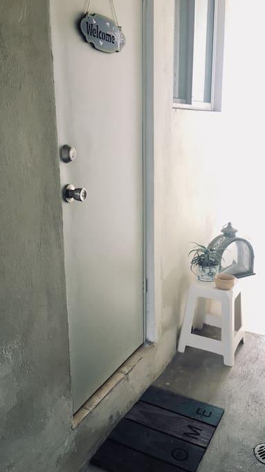 Entrada a la habitación