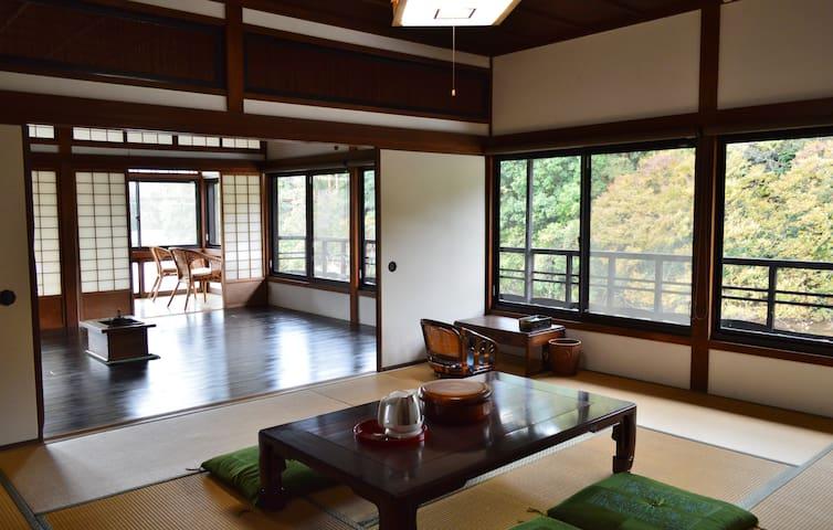 Riverside retreat for KIX n Koyasan.  Meet Nitama. - 紀の川市
