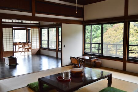Riverside retreat for KIX n Koyasan.  Meet Nitama. - 紀の川市 - Villa