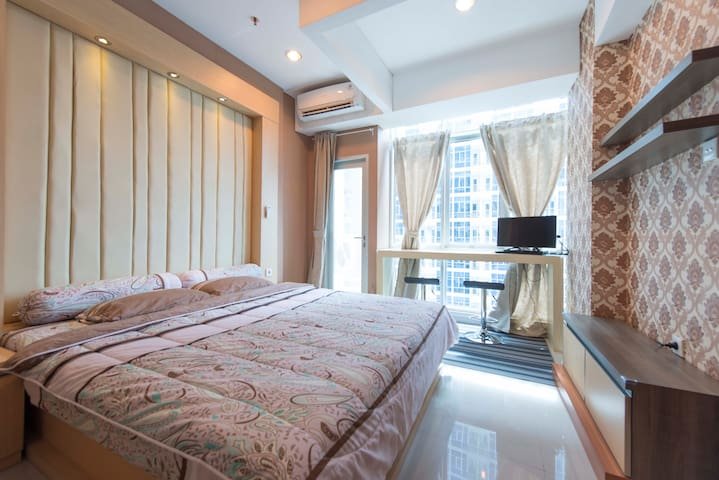 420ft²/40M² Apartment@Central Jakarta By Roomkoo