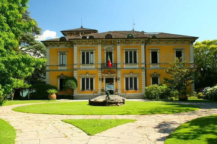 Lake Como Villa Rubini with Majestic features
