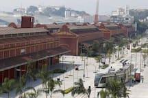 Boulevar do Porto Maravilha 10 minutos do apartamento