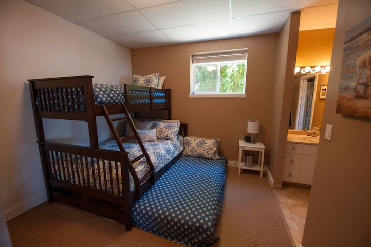 Bedroom 5 Doublebed with twin bunk and trundle