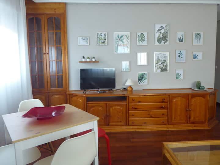 Apartamento comodo y luminoso
